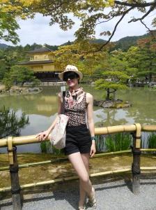 Kinkakuji temple (The Golden Pavilion)