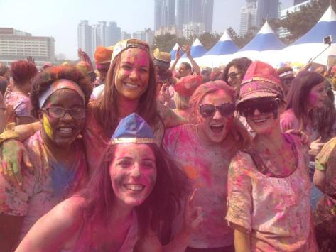 holi with Warren